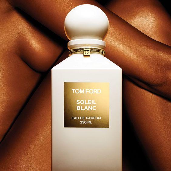 tom ford 'soleil blanc' perfume & shimmering body oil perfume review