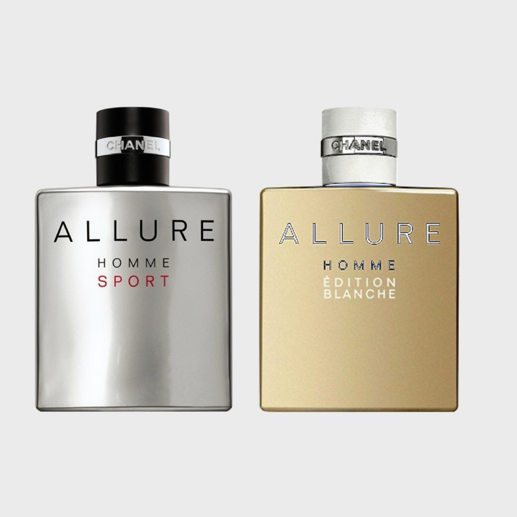 Chanel Allure Homme Sport   Chanel Allure Homme Edition Blanche ... a827a9266
