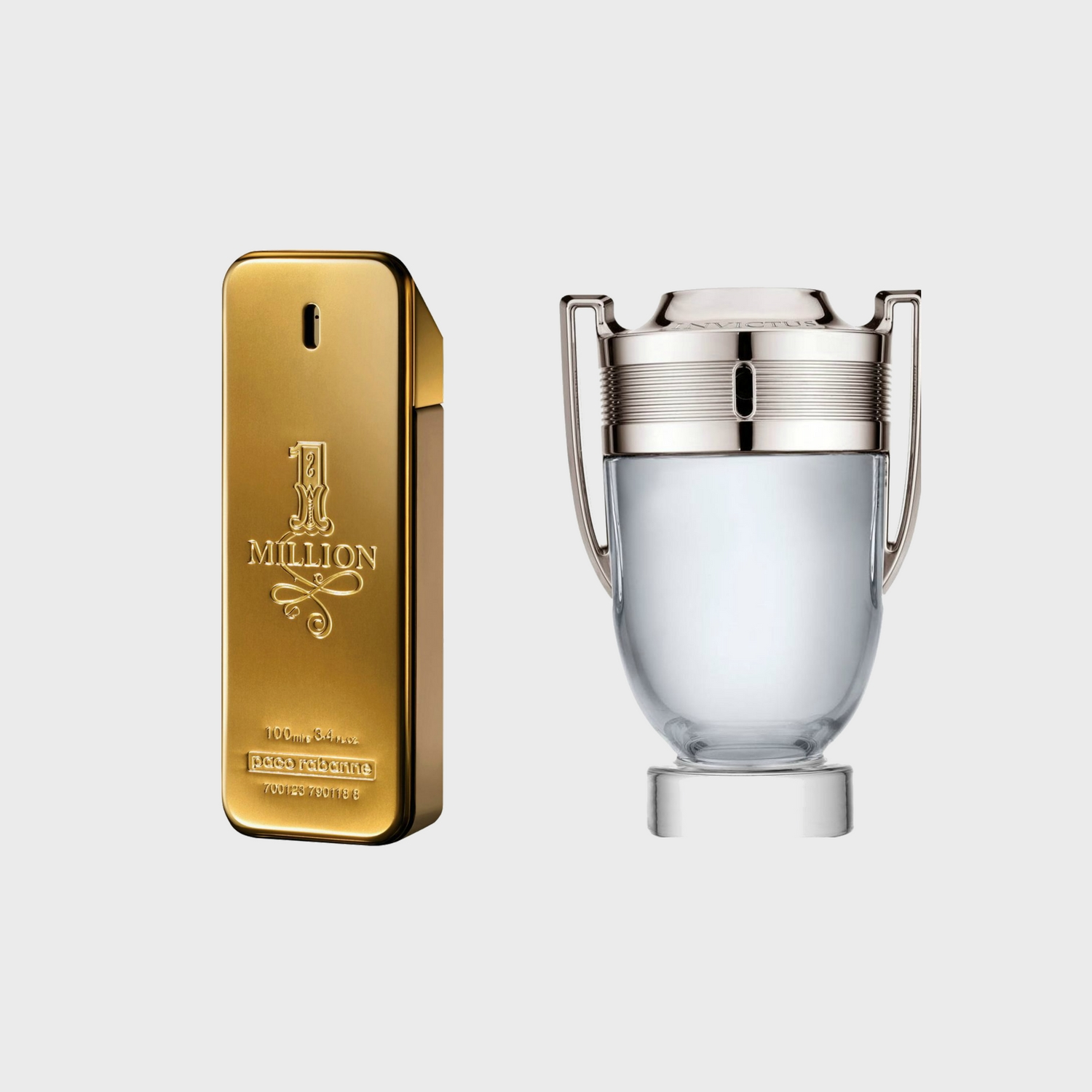 Paco Rabanne 1 Million & Invictus Paco Rabanne - Men's Fragrance Review