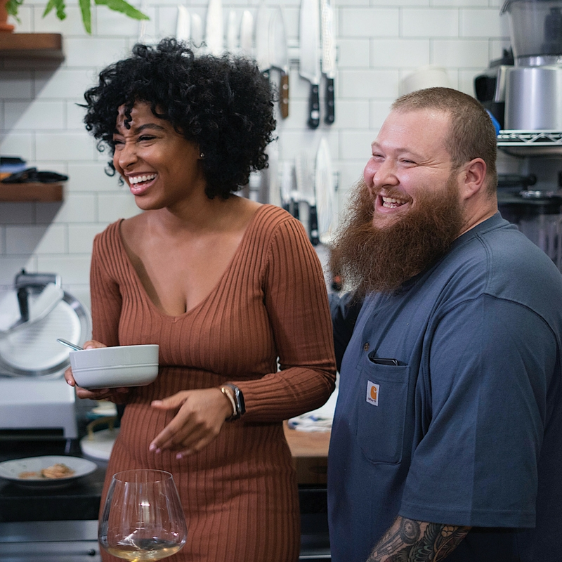 Hanging with Action Bronson on The Untitled Show